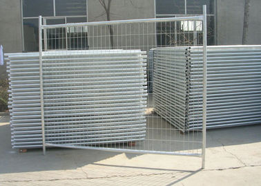 Galvanized Steel Pipe Builders Temporary Fencing For Construction Site