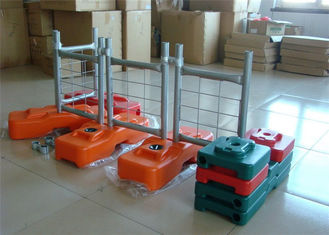Playground safety outdoor Australian temporary  fencing galvanized or pvc coated